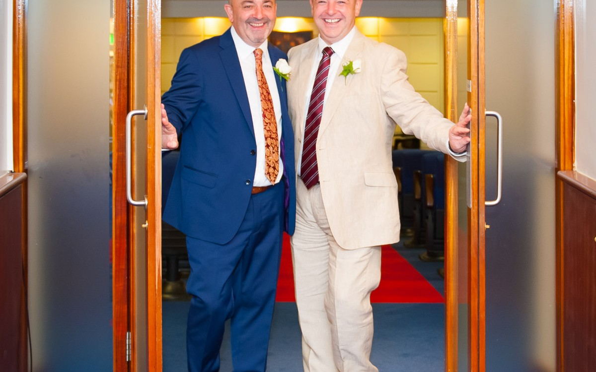 Chris & Phil - Dublin City Wedding