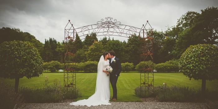 Ella & Brians wedding at Castle Durrow