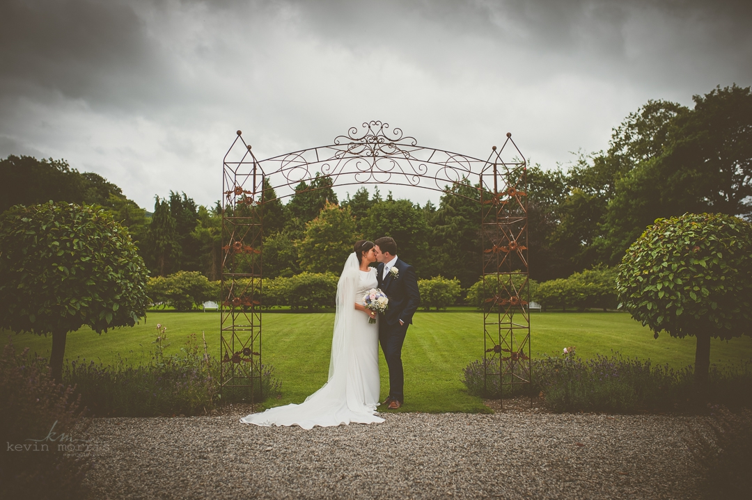 Ella & Brians wedding at Castle Durrow