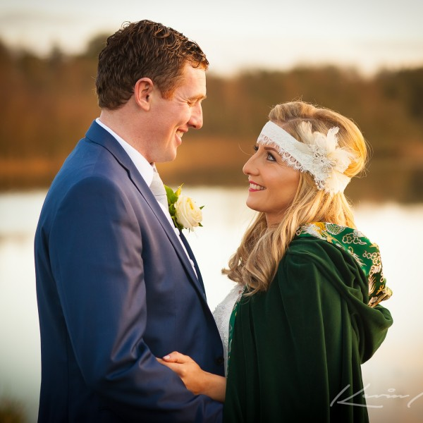 Laura & Rorys fairy tale wedding at Lough Rynn Castle