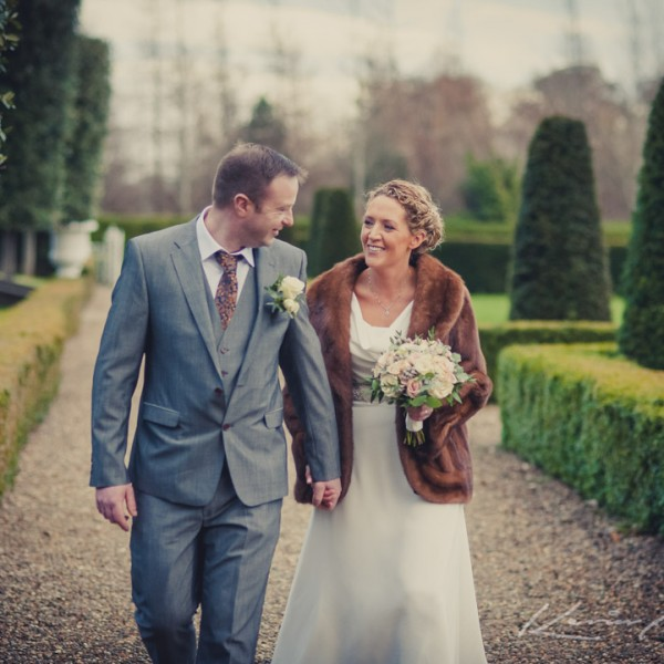Fiona & Ciarans big day at Palmerstown House Estate