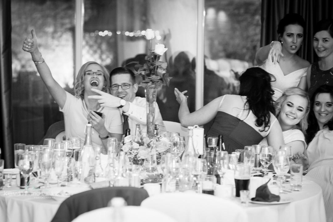 Hotel Kilkenny fab retro wedding of Eilis & Garrett