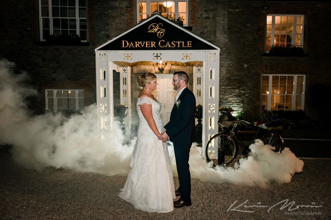 Ruth and Craig at Darver Castle