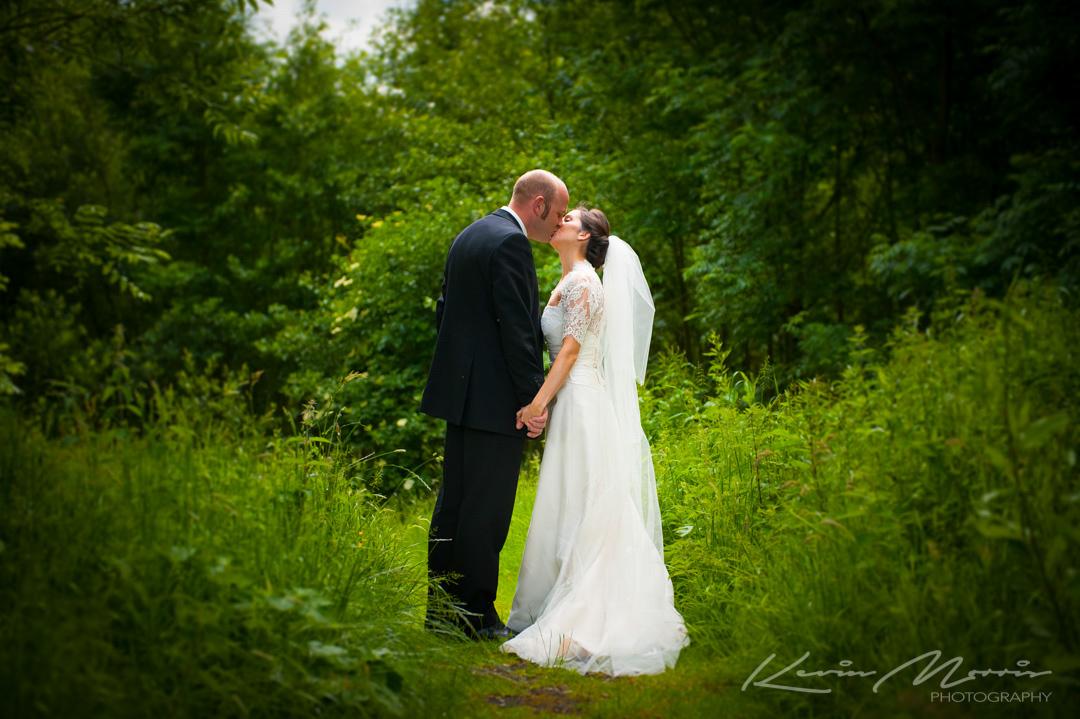 Informal wedding Photos at Johnstown House Hotel