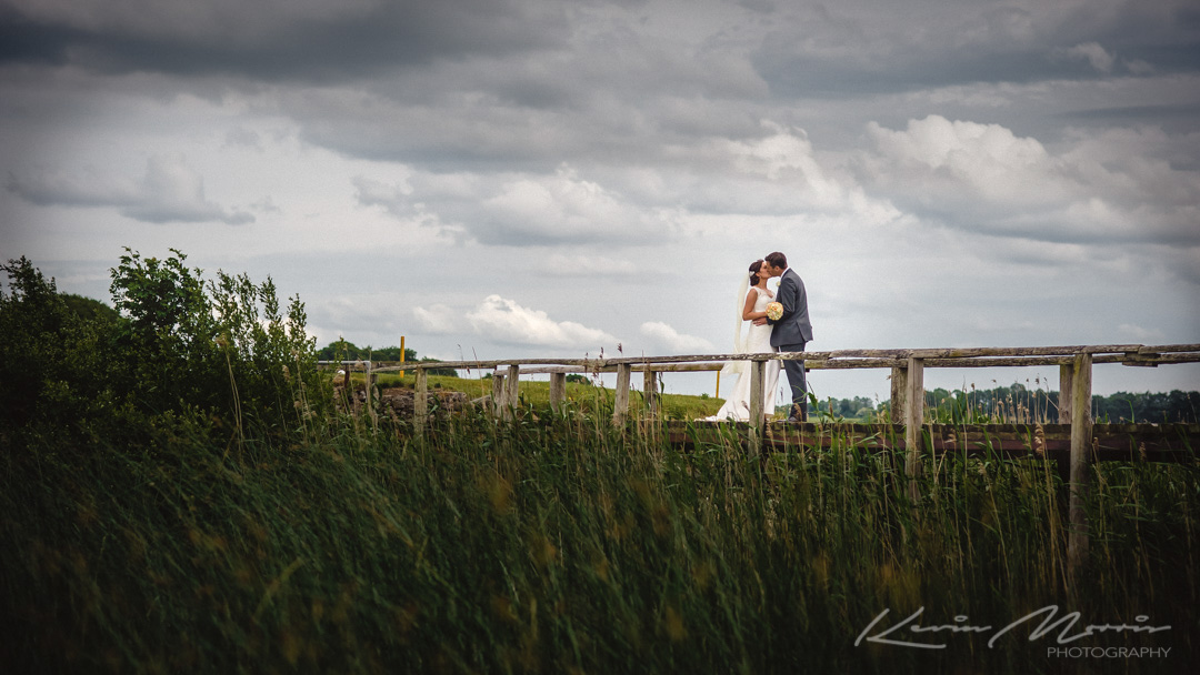 Claire and Donagh at the lovely Glasson Hotel and Country Club