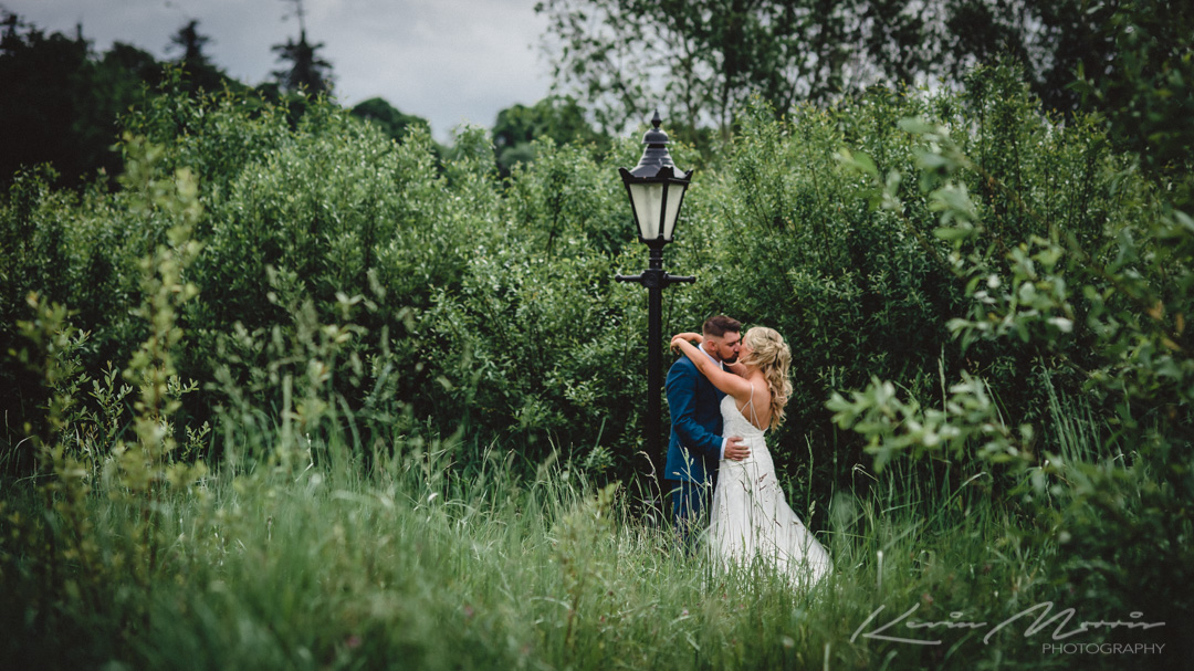 A beautiful intimate celebration at the Bloomfield House Hotel